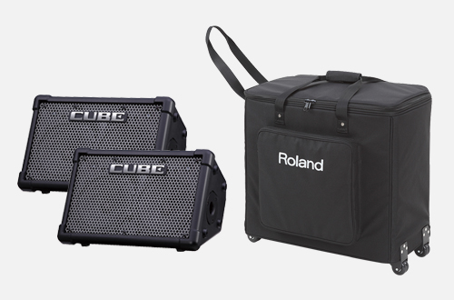 Roland CUBE Street EX PA Pack Battery Powered Stereo Amplifier