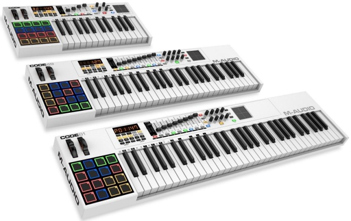 MIDI-keyboard from M-Audio-1