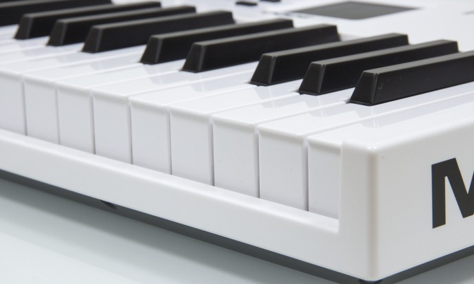 MIDI-keyboard from M-Audio-7
