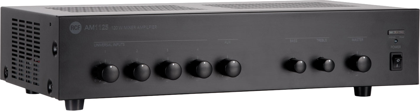 rcf-am1125-mixer-amplifier