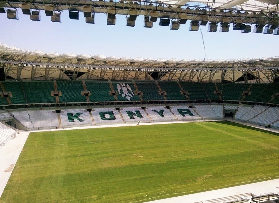 Modernization of the stadium sound Konya systems from RCF- 03
