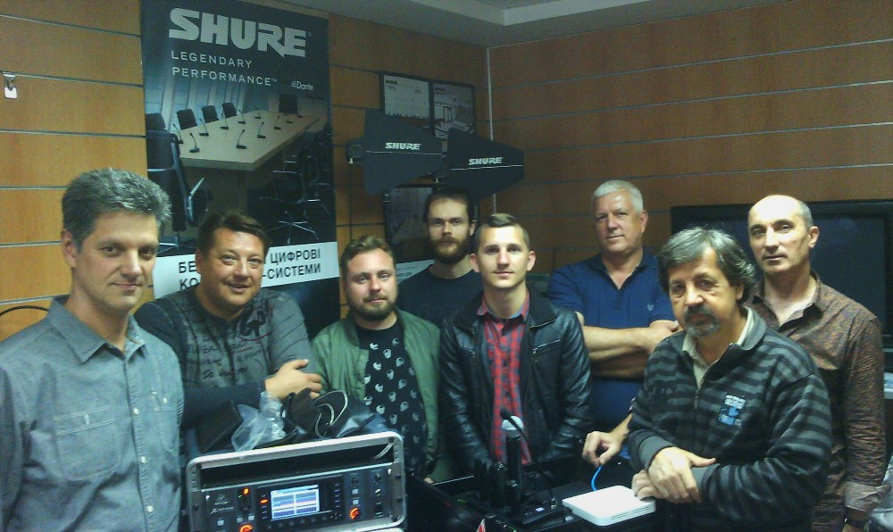 фото тренінг Pro Shure і Integrated Systems Shure
