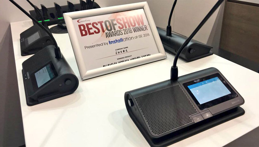 фото Microflex Complete Wireless названий кращим продуктом на ISE 2018