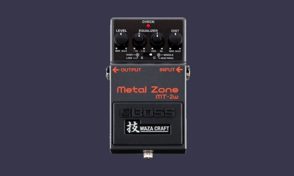 фото педаль Boss MT-2 Metal Zone